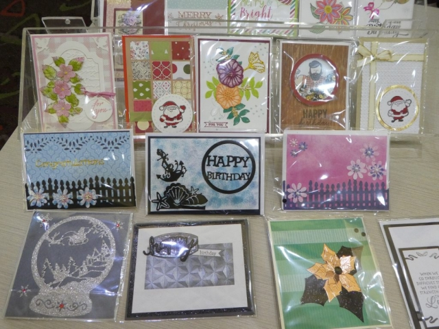 Card Making Display