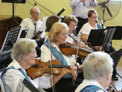 LMU3A Orchestra at Musicale