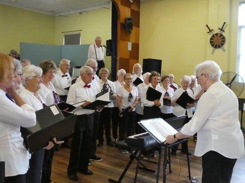 LMU3A Choir at Musicale