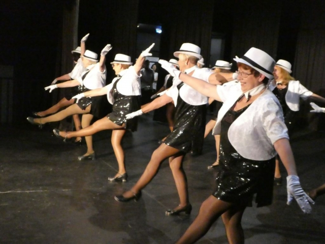 Tap Dancing at LMU3A Variety Concert